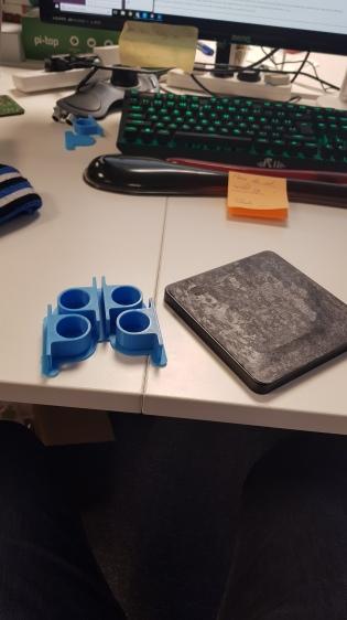 3D printed motor brackets