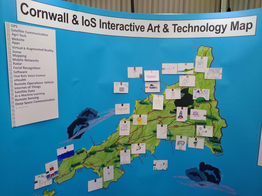 Cornwall Interactive Map Cornwall interactive art and technology map
